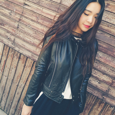 Leather jacket OTHER c17f16105wf 2017
