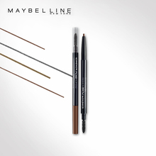 Maybelline precision modeling eyebrow pencil double head spiral eyebrow brush fine dyed natural three-dimensional modeling beginners