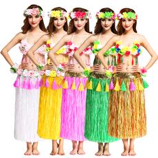 костюм для гавайского танца Color colorful
