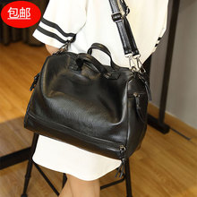 Yuanjia 2019 new women's handbag Korean locomotive bag slant across bag trend Boston women's bag shoulder bag praise