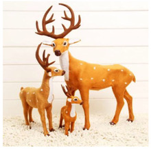 Christmas deer Decoration Christmas gift fawn decoration simulation fawn decoration props