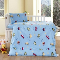 Kindergarten with pure cotton quilt set of 36 core spring children cartoon bedding NAP car