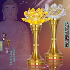 Светильник-Лотос Crystal Lotus лампа буддийской поставок
