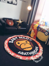 Cartoon Milo to cushion childrens toys may be admitted to cushion storage bag polyester cotton slip mat round picnic mat
