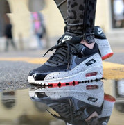 Spring Air shoes max90 new female Korean breathable casual shoes sneakers increased spell color female running shoes
