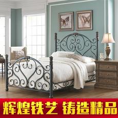 Кровать с металлическим каркасом Brilliant Iron