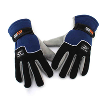 Gloves-20 degree winter lovers warm gloves for men and women riding gloves padded outdoor fleece gloves