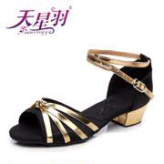 La Stella per i Bambini il giorno di piume in Latino Latino scarpe scarpe con suola morbida delle ragazze di danza per Bambini di Kung Fu, scarpe scarpe scarpe da Ballo