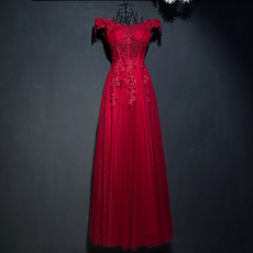 Evening dress America according to the