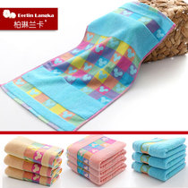 Factory wholesale cloth towels washcloth soft absorbent cotton padded into peoples Congress child baby towels