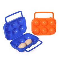 Camping special egg 6 Pack handle carrying eggs egg breaking-proof PP clip specials