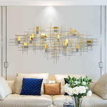 Dining room, living room sofa, background wall decoration, hotel aisle, metal wall decoration, creative home stereoscopic wall decoration