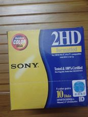 Дискеты SONY 1.44MB 2HD 10