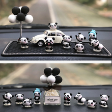 Creative and lovely panda car interior decoration car accessories cartoon net red car decoration car interior decoration female personality