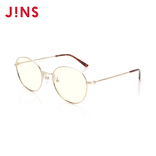JINS ms holt posture blu-ray radiation shield computer goggles FPC18A101 18 new round metal box