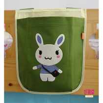 Storage bag childrens cartoon cartoons bar hanging bag bags boy childrens bed tents half high bed wall accessories