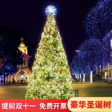 Christmas tree 2.43456 metre set, luxurious encryption and widening Christmas decoration items