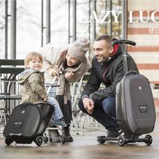 Самокат Switzerland meters high Microlazy Luggage