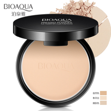 Bo Quan Ya powder cake blemish control oil, air permeability, lasting moisturizing, makeup, foundation, powder, powder, powder, powder, powder, beginner's authentic product.