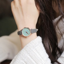 Belt watch female student Korean version simple trend ulzzang small fresh casual casual waterproof quartz watch female
