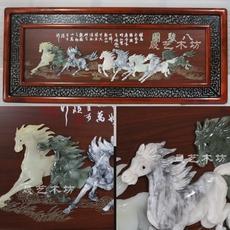Нефритовая фигурка Sheng art wood workshop