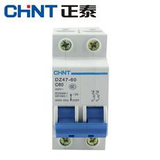 Автоматический выключатель Chnt DZ47-60 2P 16A20A25A32A40A60A