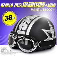 Шлем для скутера Hongye Harley