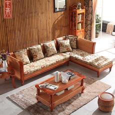 Диван из ротанга Baocheng