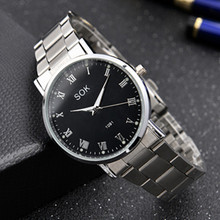 Fashion Watch Female Student Korean Simple Leisure Atmosphere Nightlight Men's Watch Non-mechanical Quartz Couple Watch