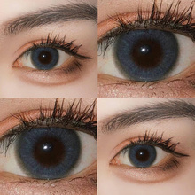Meitong female blue genuine big brand small diameter year throwing hybrid net red style month throwing day throwing half a year throwing contact lenses