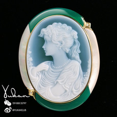 Брошь OTHER -18K Idar CAMEO-