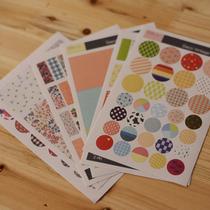 �¿� �n���}��Deco vintage sticker ��@�黨�²�ˇ�N�� 6����