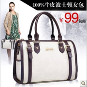 Blue rhino leather handbags 2013 new winter influx of European and American fashion women handbag bag retro bag woman