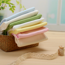 Pure cotton double knitting cloth baby cotton cotton fabric 50 TK infant class a solid color