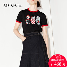 T-shirt Mo & Co. ma171tee209 MO&Co.