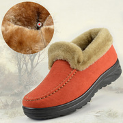 Free shipping autumn and winter of old Beijing shoes women's boots female cotton-padded shoes, warm cotton boots shoes high shoes mom female boots