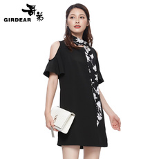 Women's dress Girdear 1001/590077 2017 590077