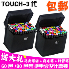 Фломастеры Touchthree TOUCH 60 80