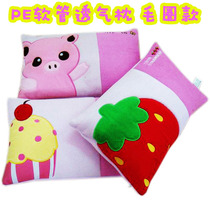 Foreign PE breathable Terry cloth embroidered plastic hose pillow pillows anti-mite and not stuffy American greasy