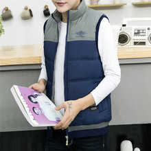 Autumn and winter cotton men's warm and handsome vest
