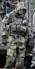 Тренчкот милитари Sweden 188 M90 Goretex