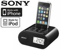 ���f���� ԭ�b Sony ICF-C05IP iPhone/iPod �����[� 犿������C