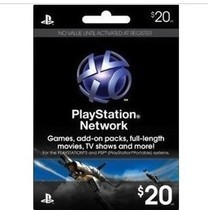����SONY PSP PS3 PSN PSV $20��Ԫ�����ֵ�c��