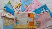 Cartoon 2.35 meters wide cotton cotton cotton twill material babies baby baby bedding fabric