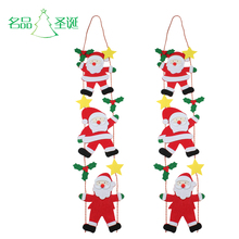 Famous Santa Claus ladder hanging Santa Claus tree hanging Christmas gift decorations Santa Claus hanging gift