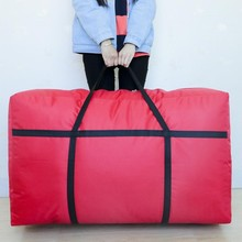 Handbags, large bags, large bags, luggage bags, extra large canvas, portable packing artifact bags.