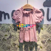 South Korea Moi (spot) girl Korean version of a puff sleeve blouse with short sleeves the colors very beautiful fairy
