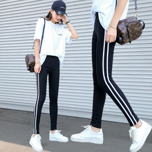Sports wear plush new black high waist pencil Leggings