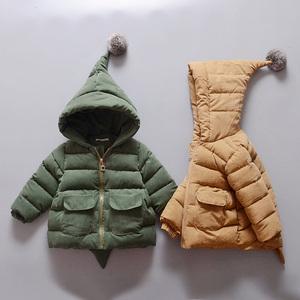 男女宝宝棉衣外套0婴儿衣服2冬装1岁半3冬季8加厚6-12个月9周岁10婴儿棉衣