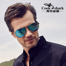 Cook shark Cook shark sunglasses, male polarizer driver glasses, driving glasses, sunglasses, toads.